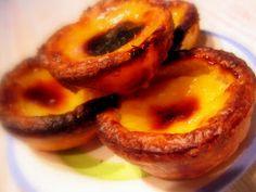 Recette des Pastéis de nata... Mon petit bonheur des vacances au Portugal ;-)