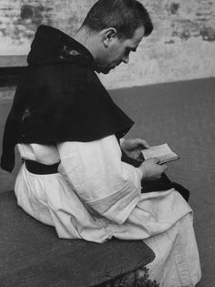 some catholic monk reading picture from allposters