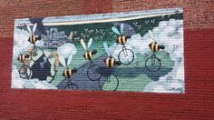 I just love the Beecycle murals by Matt Lively of VCU. I first saw a beecycle mural at the former Richmond Bus Terminal project in the fall of 2013. And then while out searching for murals for the …