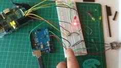 Control de luz con Arduino. Usando luz!