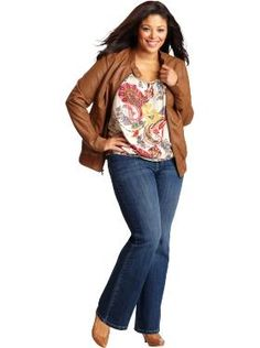 Women's Plus Size Clothes: Jean Outfits   Old Navy