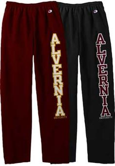 Alvernia University Open Bottom Sweatpants