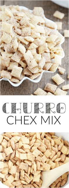 guest post something swankys churro chex mix gf df egg soy peanut tree nut free top 8 free vegan allergy awesomeness ? Chex Mix Recipes, Gf Recipes, Vegan Chex Mix Recipe, Recipies, Snack Recipes, Dessert Recipes, Allergy Free Recipes, Gluten Free Breakfasts, Churros