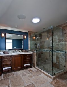 Photography by Ken Henry Traditional Bathroom Design