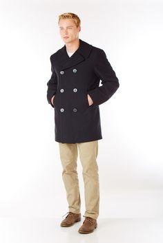 The Pea Coat - Sterlingwear Boston Navigator