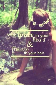 ☮ American Hippie Music Lyrics Quotes ~ After The Storm - Mumford & Sons . . . flowers in your hair