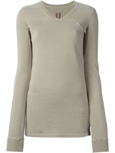 Shop Rick Owens DRKSHDW v-neck sweatshirt in Hervia Bazaar from the world's best independent boutiques at farfetch.com. Shop 300 boutiques at one address.