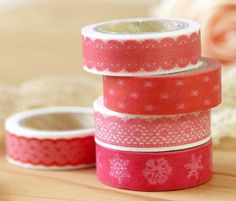 New Quality Lace And Cartoon Series Washi Masking Tape on Luulla