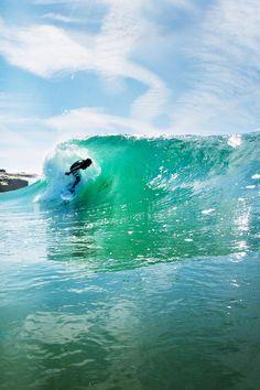 Beach Break Barrel