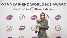 Via WTA: Halep clinches year-end World No.1 singles ranking