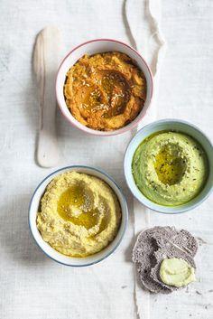 A l ¡ n a Versioni Hummus Veg Recipes, Wine Recipes, Cooking Recipes, Healthy Recipes, Finger Food Appetizers, Finger Foods, Appetizer Recipes, Salsa Italiana, Food Porn