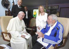 Incroci storici in quel di Cuba: il Papa e Fidel