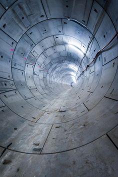 London Transport Museum. | #Crossrail Tunnel running near Woolwich #WorldArchitectureDay