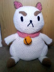 Pin-up crafts: Completed Puppycat - With Free Pattern Alterations