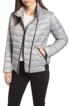 Melange Stretch Jacket by Bernardo on Petite Size, Nordstrom Rack, Rib Knit, Fit Women, Stretches, Night Out, Zara, Winter Jackets, Style Inspiration