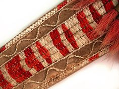 Contemporary Makers: Cathy Sibley Quilled Sheath with Bill Reynolds Knife