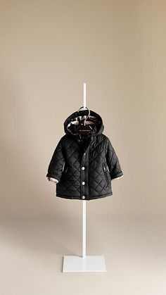 Classic Burberry QUILTED JACKET for Infants and Toddlers  #ConvertToBlack