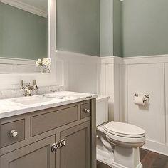 Tranquil Bathroom Design, Transitional, Bathroom