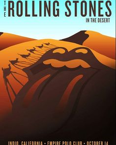 The second show of Desert Strip is on tonight!!!!#therollingstones #desertstrip