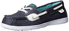 Sperry Top-Sider Seascape Boat Shoe (Toddler/Little Kid/Big Kid) -- More info could be found at the image url.