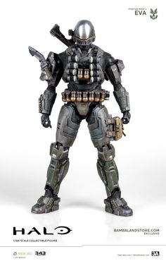 Incredible New Halo Reach Spartan Action Figures Have It All Odst Halo, Halo Armor, Halo Spartan, New Halo, Foam Armor, Halo Game, Halo Reach, Spaceship Art, Sci Fi Armor