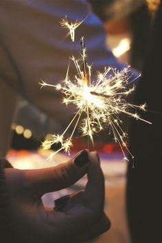 Sparklers Shine on...