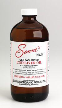 #5 COD LIVER OIL ~ 16 oz. (liquid)