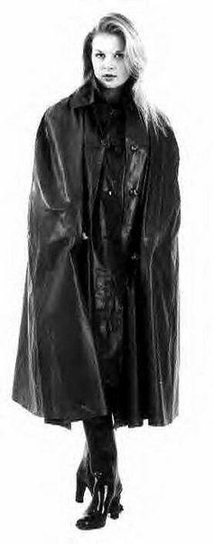146 Best Vintage Black Rubber Capes Images In 2019  Black -2172