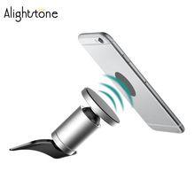 Alightstone universal CD slot Magnetic car Phone holder Magnet teléfonos celulares soporte para iphone android(China)