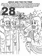 Coloring Page Fig Tree. Jesus and Fig Tree Coloring Page  Parable of The Pinterest tree