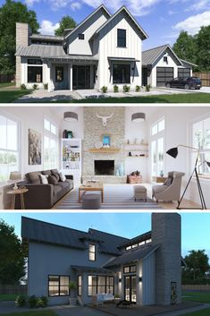 Who doesn't love a modern farmhouse? Check out this Normande floor plan! Modern Farmhouse Floor Plan, Modern Farmhouse Design, Modern Farmhouse House Plan, Farmhouse Floor Plan, Farmhouse Design, Farmhouse House Plan, Modern Farmhouse Plan, Farmhouse Plan, Farmhouse Living, Modern Farmhouse Living.