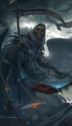 Grim reaper, Lee Kent on ArtStation at https://www.artstation.com/artwork/grim-reaper-c701f022-7483-4a15-8935-e9f06e81f7c8