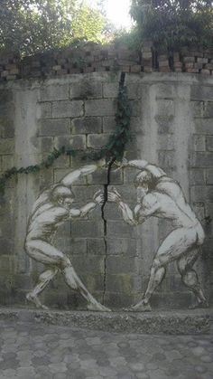 Penny and Daniel Lumbini: Out of the Blue, Hackney, London, 2010.  street art 000