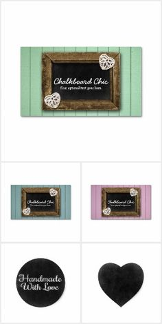 Chalkboard Chic on @zazzle  #Rustic #Handmade #Chalkboard #Business #Branding #Marketing #Stickers #Labels #Printable #Custom #Card #Personalized #Crafting #Boutique #Shop #Zazzle