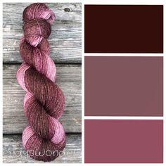 Hand Dyed Yarn Ombre Yarn Gradient Yarn by WendysWonders127