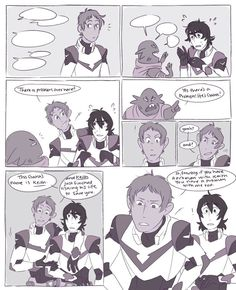 1/2 Keith is galra and lance is precious