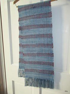table runner table rug  bureau scarf   table by marthaweaves, $65.00
