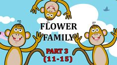 Finger Family Flower Songs For Children | Flower Daddy Finger Cartoon An...