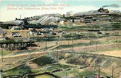 CO, Victor, Colorado, Portland & Independence Mines Panorama, No 252-919