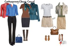 How to wear casual clothing for the classic personality.  To me, most casual clothes look too sloppy, I need her advice to spiff it up.