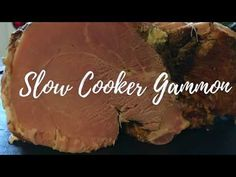 Slow Cooker Gammon is so easy to prepare and even easier to cook. Minimal effort for maximum taste! Cook it on its own or add flavours, the choice is yours.