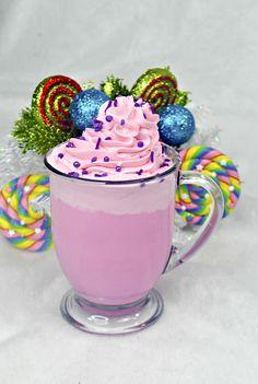 Sugar Plum Fairy Hot Chocolate via Fairy Birthday Cake, Disney Birthday, 9th Birthday, Birthday Ideas, Birthday Parties, Nutcracker Christmas, Christmas Fairy, Christmas Sweets, Merry Christmas