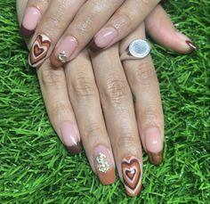 Bling Acrylic Nails, Simple Acrylic Nails, Best Acrylic Nails, Acrylic Art, Edgy Nails, Funky Nails, Swag Nails, Garra, Nagellack Design