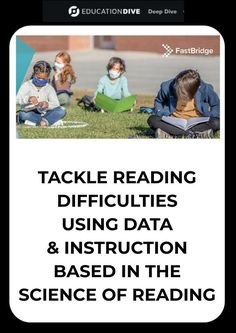 Reading is a social justice issue. Address it with assessment and evidence-based reading instruction.