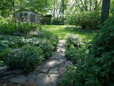 Shade Garden, Garden Path Rick Darke LLC Landenberg, PA