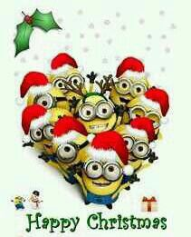 Happy Christmas Minions