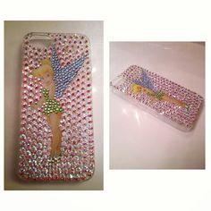 Swarovski crystal iPhone 5 Tinker Bell case. #icedaddiction #etsy
