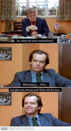 What are you motivations?