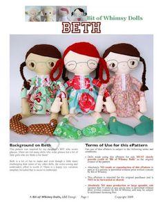 Mimin Dolls: Bete, Jane, Jo e Missy