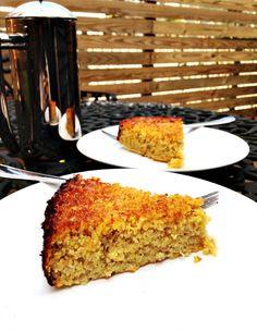 gluten free apple olive oil cake